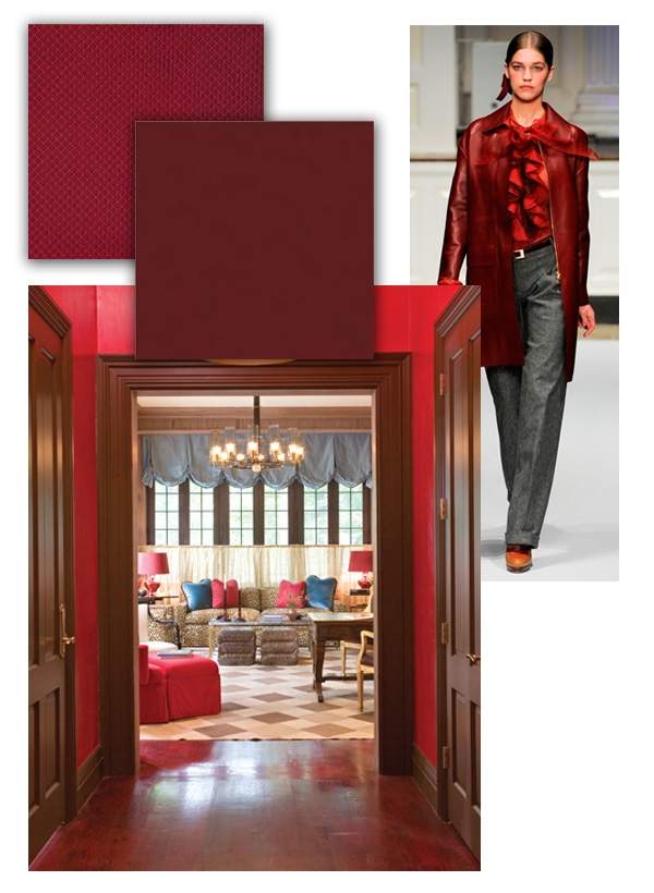 KRAVET | Fall Color Forecast: Burgundy