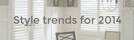 Top trends for window coverings in 2014