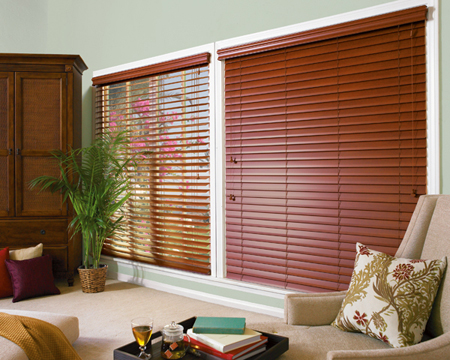 Hunter Douglas Wood blinds
