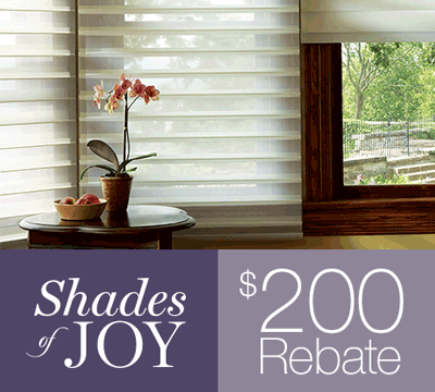 Hunter Douglas rebate promotion