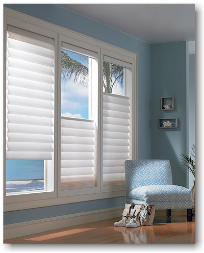 Hunter Douglas top down bottom up vignette blinds