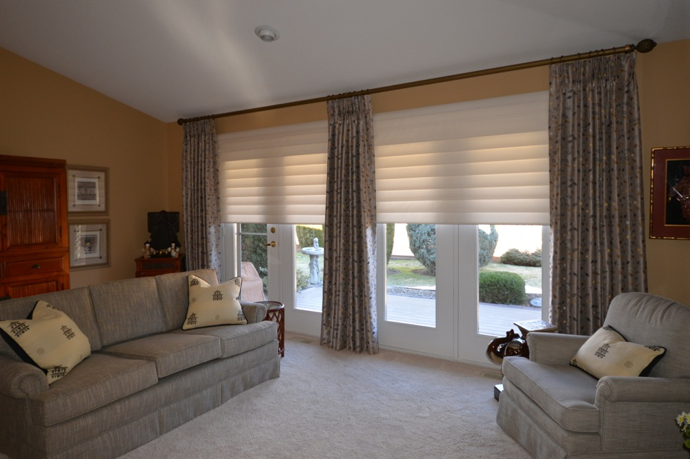 How To Choose The Right Hunter Douglas Blinds The Well Dressed - Hunter douglas blinds for patio doors
