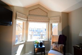 The Well Dressed Window Custom Roman Shades