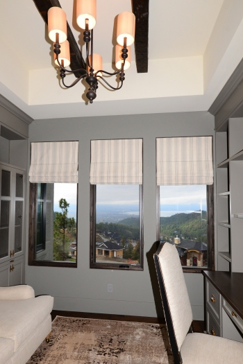 custom roman shades | The Well Dressed Window - Hunter Douglas Blinds