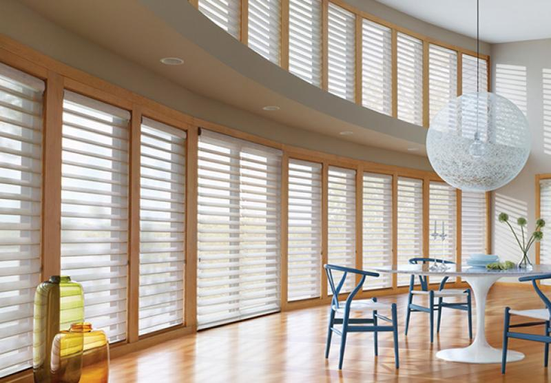 Silhouette Blinds | The Well Dressed Window - Hunter Douglas Blinds
