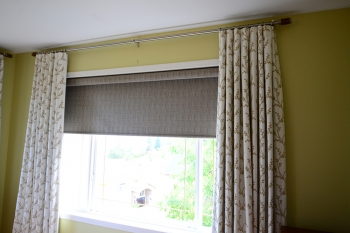 crewal fabric drapes | The Well Dressed Window - Hunter Douglas Blinds