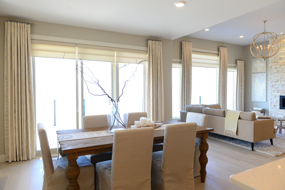 Gorgeous Southridge Show Home | The Well Dressed Window - Hunter Douglas Blinds