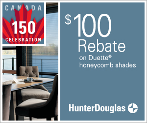 Duette honeycomb shades promotion | The Well Dressed Window - Hunter Douglas Blinds