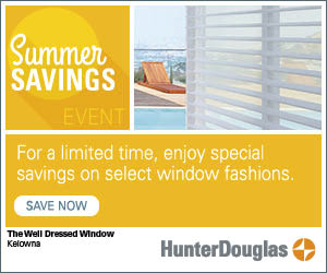 Hunter Douglas blinds summer promotion
