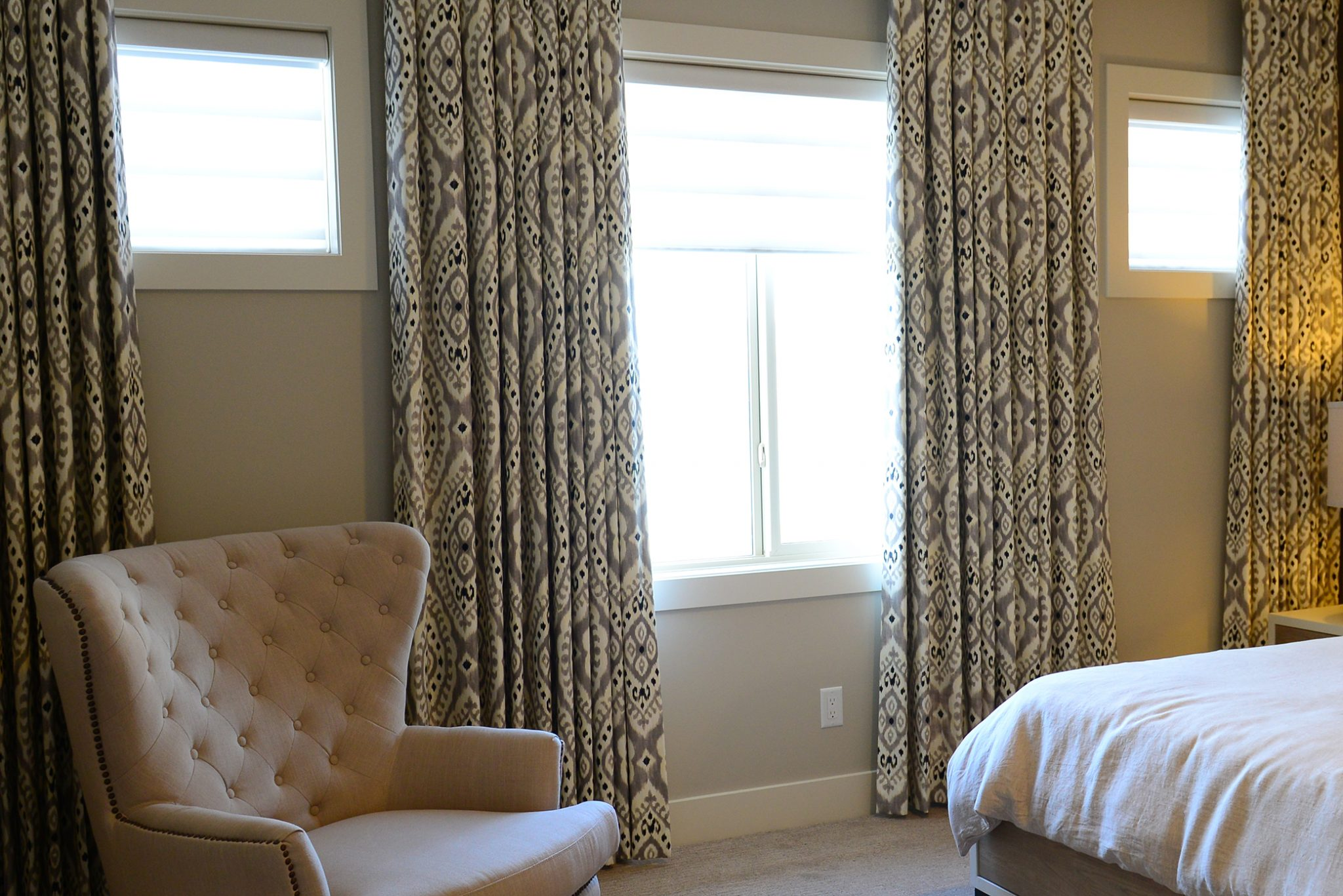 The Well Dressed Window blinds curtains drapes upholstery Kelowna