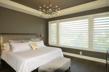 Hunter Douglas pirouette shades | The Well Dressed Window Kelowna
