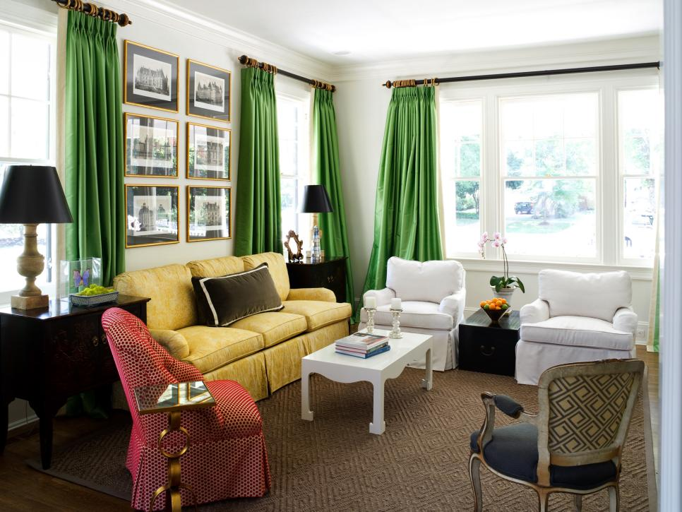 Jewel tone window treatment