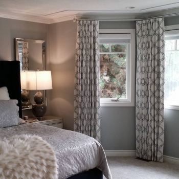 Robert Allen Custom Blackout Drapes | The Well Dressed Window Kelowna
