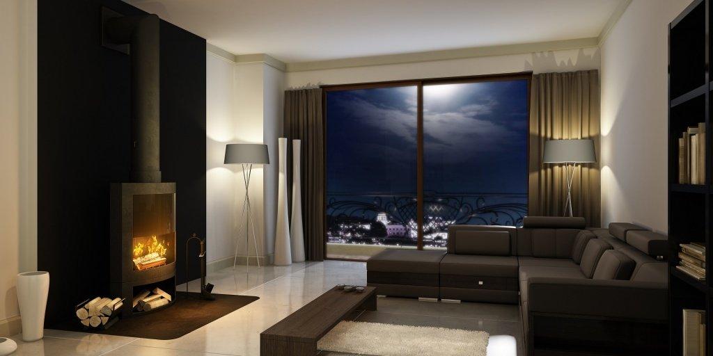 nighttime-hunter-douglas-motorized-blinds-kelowna-the-well-dressed-window