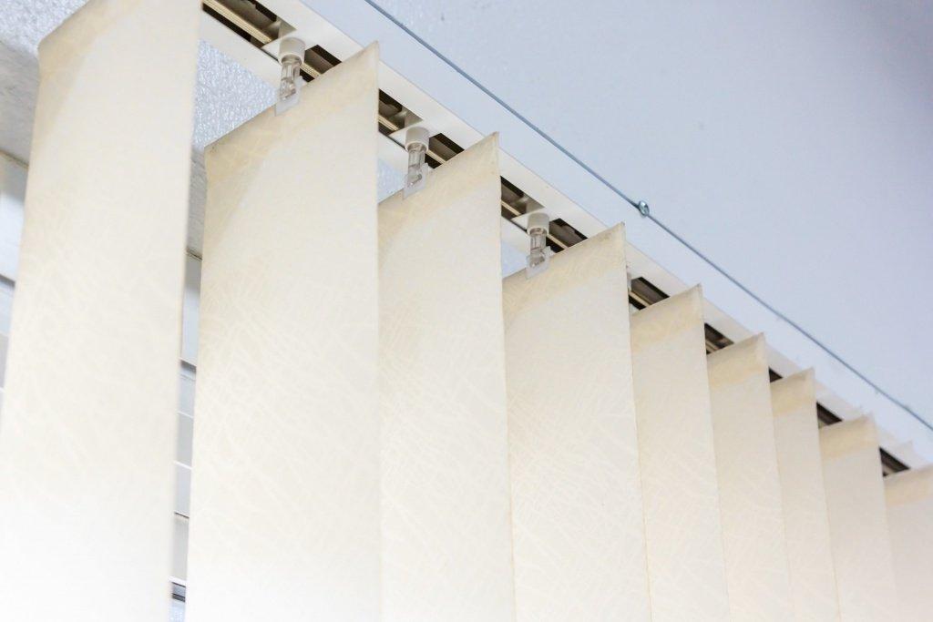 Vertical blind slats